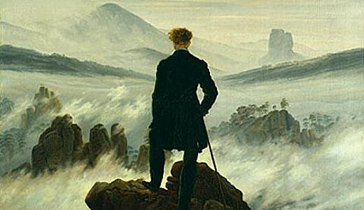 Caspar-David-Friedrich-Wanderer-über-dem-Nebelmeer-um-1817