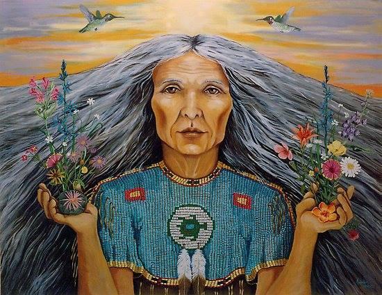 De oude wijze vrouw in jezelf